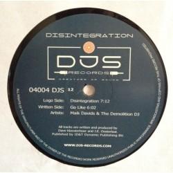 Maik Davids & Demolition DJ, The - Disintegration