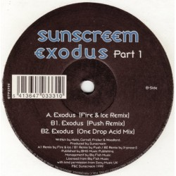 Sunscreem - Exodus (Part 1)