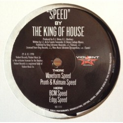 The King Of House ‎– Speed (IMPORT)