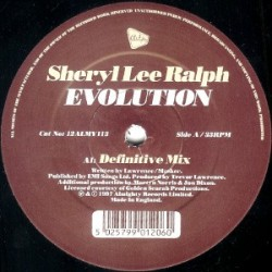 Sheryl Lee Ralph - Evolution(2 MANO,REMEMBER 90'S¡ COPIA IMPORT¡¡)
