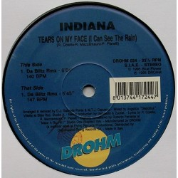Indiana  – Tears On My Face (IMPORT)