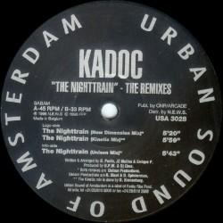 Kadoc - The Nighttrain - The Remixes