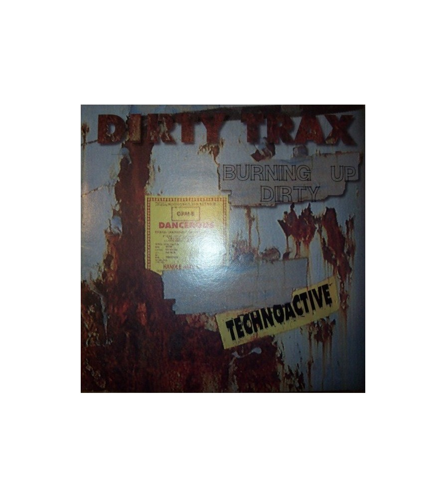 Dirty Trax - Burning Up / Dirty (REMEBER 90'S¡)