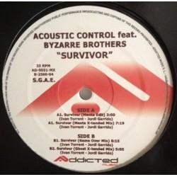 Acoustic Control – Survivor