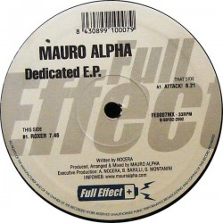 Mauro Alpha ‎– Dedicated EP