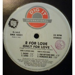 2 For Love ‎– Only For Love