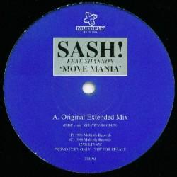 Sash Feat. Shannon – Move Mania (EDICIÓN UK)