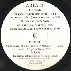 Area 51  ‎– The Power Within