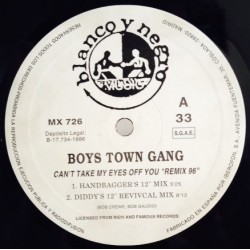 Boys Town Gang ‎– Cant Take My Eyes Off You