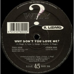 K. Lizard ‎– Why Don't You Love Me (IMPORT)