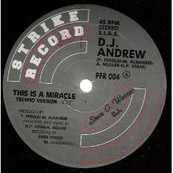 DJ Andrew – This Is A Miracle (IMPORT)
