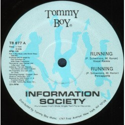 Information Society ‎– Running (DISCO ORIGINAL)