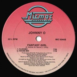 Johnny O ‎– Fantasy Girl (EDICIÓN AMERICANA)