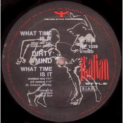 Dirty Mind - What Time Is It