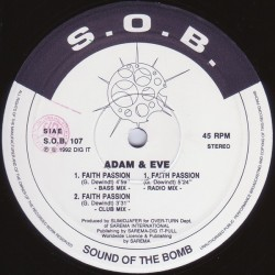 Adam & Eve - Faith Passion