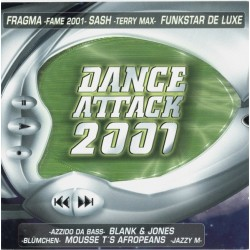Dance Attack 2001 (DOBLE CD)