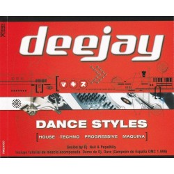 Deejay - Dance Styles (TRIPLE CD)