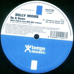 Billy More ‎– Up & Down (Remix Pulsedriver)