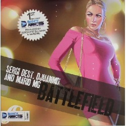 Sergi Dest, Djuanmix And Mario MG ‎– Battlefield