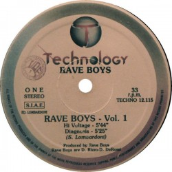 Rave Boys - Volume 1