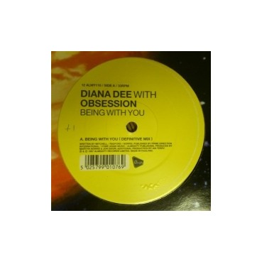 Diana Dee With Obsession ‎– Being With You (almighty records)