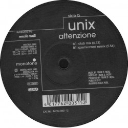 Unix - Attenzione(DISCAZO REMEMBER¡¡ COPIA IMPORT NUEVA¡¡)