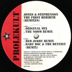 Jones & Stephenson ‎– The First Rebirth (Remixes)