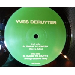 Yves Deruyter ‎– Back To Earth (bonzai uk)