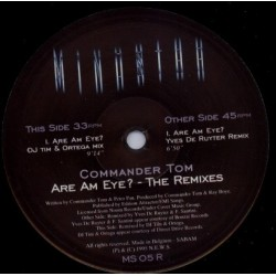 Commander Tom ‎– Are Am Eye? (Remix Dj Tim & Yves Deruyter)