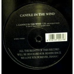 Lawrence ‎– Candle In The Wind