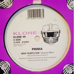 Prima ‎– New Year's Day / Say You Love Me