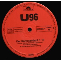 U 96 - Der Kommandant / Come 2Gether(TEMAZO REMEMBER  92)