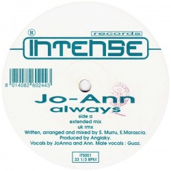 Jo-Ann – Always (INTENSE MUSIC)