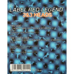 2 & 3 Heads ‎– Label Red - Legend
