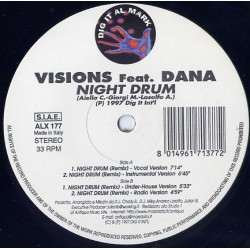 Visions ‎– Night Drum (Remixes)