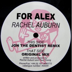 Rachel Auburn ‎– For Alex
