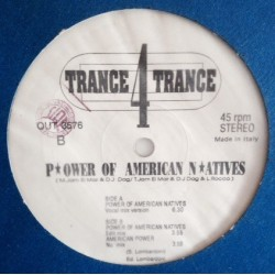 Trance 4 Trance ‎– Power Of American Natives