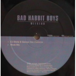 Bad Habit Boys - Weekend(2 MANO,IMPECABLE¡¡ DISCAZO¡¡¡)