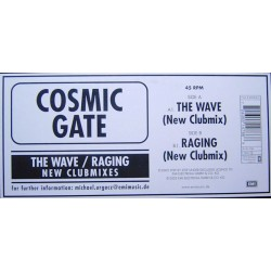 Cosmic Gate ‎– The Wave / Raging (New Clubmixes)