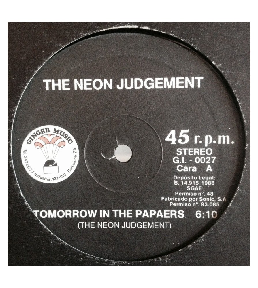 Neon Judgement, The* Neon Judgement - Early Tapes