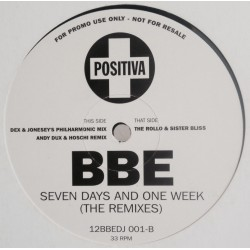 BBE ‎– Seven Days And One Week (The Remixes)
