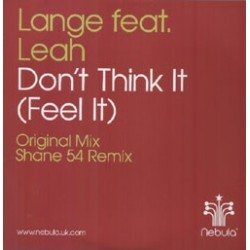 Lange ‎– Don't Think It (Feel It)