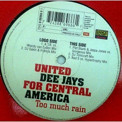 United Deejays For Central America - Too Much Rain