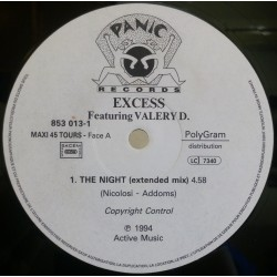 Excess ‎– The Night (PANIC RECORDS)