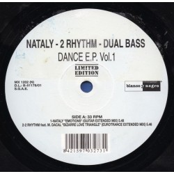 Dance EP Vol. 1 (INCLUYE NATALY - EMOTIONS & DUAL BASS - WHAT WILL I DO¡¡)¡¡ )