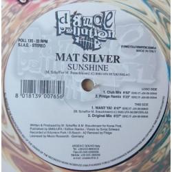 Mat Silver – Sunshine