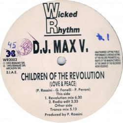 DJ Max V ‎– Children Of The Revolution