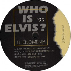 Phenomenia- Who Is Elvis? '99(2 MANO,TEMAZO CHOCOLATE 99')