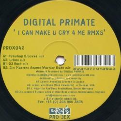 Digital Primate - I'll Make You Cry 4 Me (Remixes)