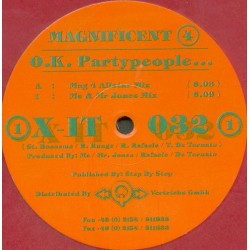 Magnificent 4 - O.K. Partypeople
